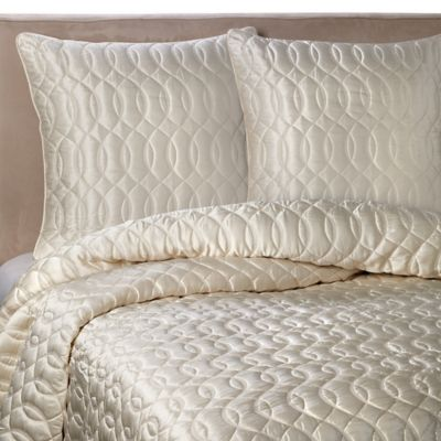 Barbara Barry Dream Sublime Full/Queen Quilt in Ivory