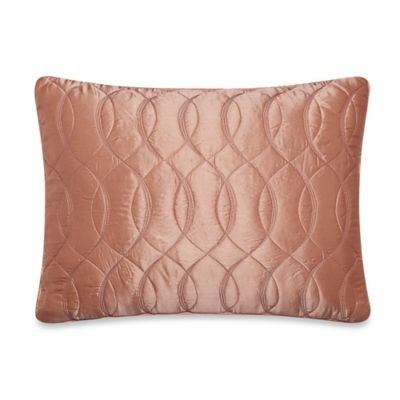 Barbara Barry Dream Sublime Boudoir Throw Pillow in Orange