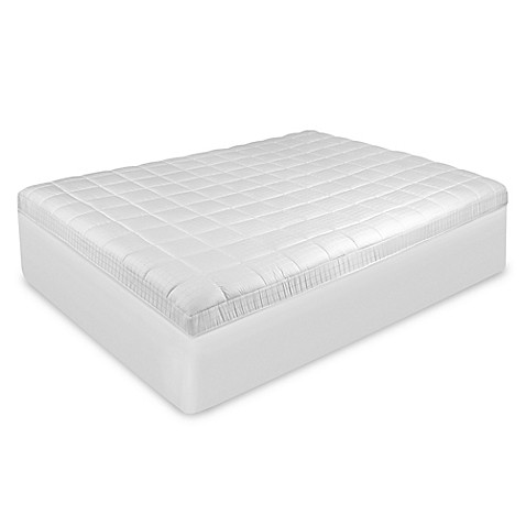 Buy Therapedic Euro Top Full Mattress Pad from Bed Bath