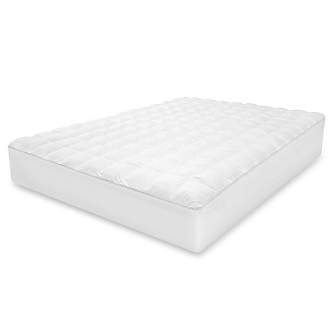Therapedic 174 Top Loft Gel Fiber Mattress Pad Bed Bath