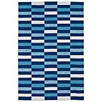 Matira Indoor/Outdoor Area Rug in Blue