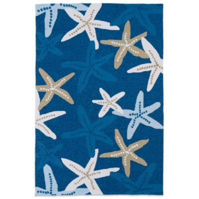 Kaleen Matira 2-Foot x 6-Foot Indoor/Outdoor Rug in Blue