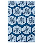 Matira Collection Indoor/Outdoor Area Rug in Blue
