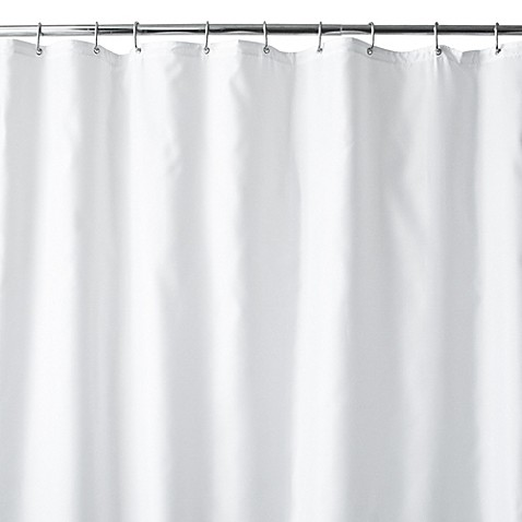 hotel white fabric 70 x 84 extra long shower curtain liner