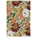 Kaleen Matira Tropical Indoor/Outdoor Rug in Ivory