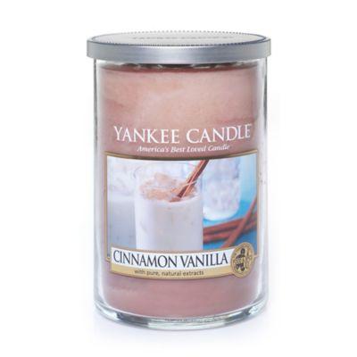 Cinnamon Vanilla 2-Wick Candle Tumbler
