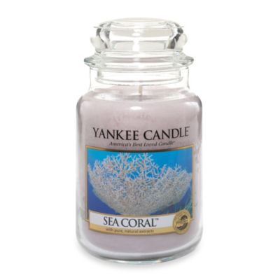 Yankee Candle® Sea Coral Large Classic Candle Jar