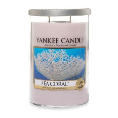 Yankee Candle® Sea Coral 2-Wick Lidded Candle Tumbler