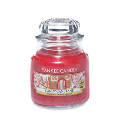 Yankee Candle® Candy Cane Lane Small Candle Jar