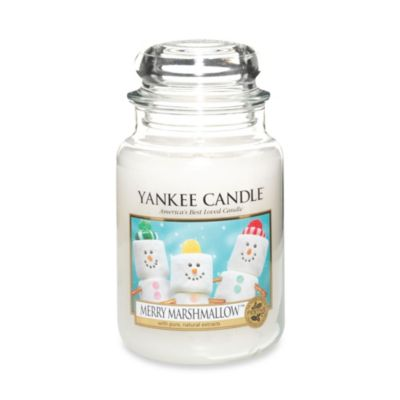 Yankee Candle® Merry Marshmallow™ Large Candle Jar