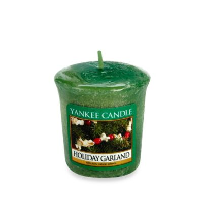 Yankee Candle Holiday Garland Sampler Votive