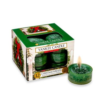 Yankee Candle® Christmas Wreath® Tealight Candles (Set of 12)