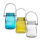 Home Essentials 32-Ounce Mason Jar with Rope Handle