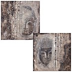 Moe's Home Collection Subtle Buddha 39-Inch x 39-Inch Wall Art