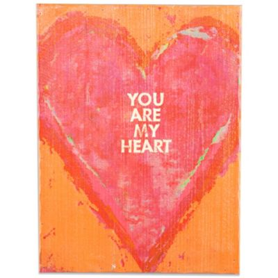 Holly & Martin® Swoon You Are My Heart Wall Panel