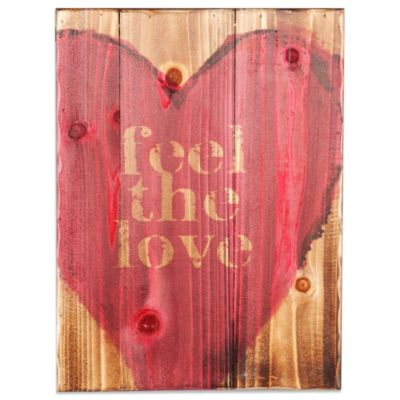 Holly & Martin® Swoon Feel the Love Wall Panel