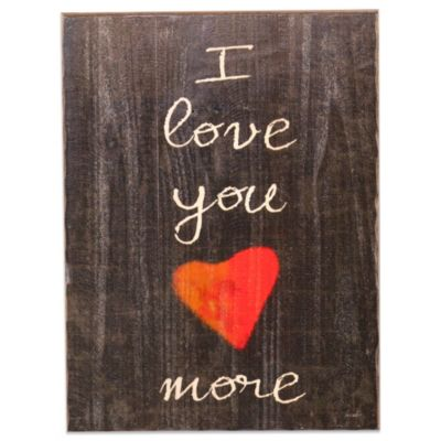 Holly & Martin® Swoon I Love You More Wall Panel