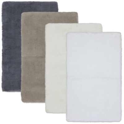 Kenneth Cole Reaction Home Luxury 24-Inch x 60-Inch Bath Rug in Snow