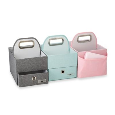 JJ Cole® Diaper and Wipes Caddy in Slate