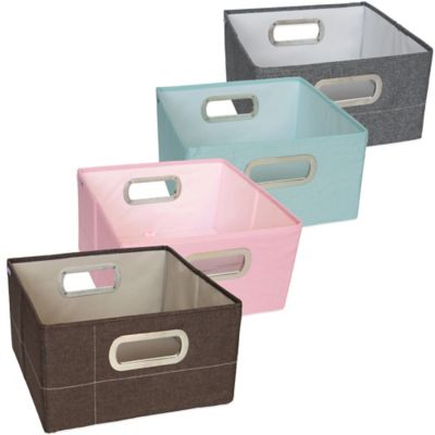 JJ Cole® 6.5-Inch Storage Box in Pink