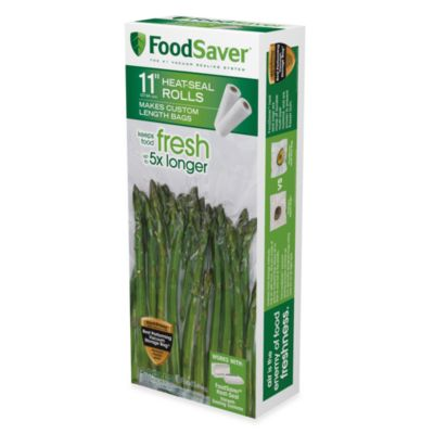FoodSaver® 11-Inch x 16-Inch 2-Pack Vacuum Packaging Rolls