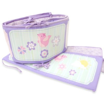 Baby's First by Nemcor Once Upon A Garden 4-Piece Bumper Set