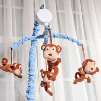 Mobiles > Baby's First by Nemcor Monkey 'N Around Musical Mobile
