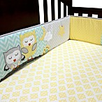 Baby's First by Nemcor Naptime Owls 4-Piece Crib Bumper