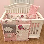 Baby's First by Nemcor Little Birdie Garland 5-Piece Crib Bedding Set