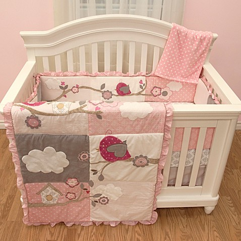 Baby S First By Nemcor Little Birdie Garland Bedding