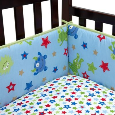 Monster Babies 4-Piece Crib Bumper