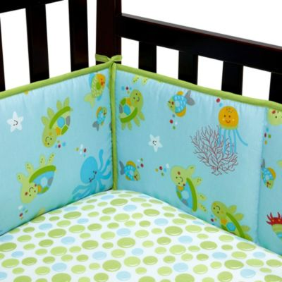 Little Bedding by NoJo® Ocean Dreams 4-Piece Crib Bumper