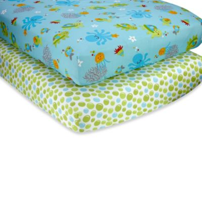Ocean Baby Fitted Sheets