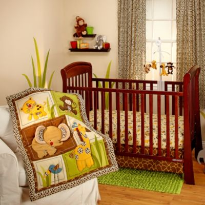 Little Bedding by Nojo® Jungle Dreams 3-Piece Crib Bedding Set