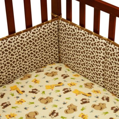 Little Bedding by Nojo® Jungle Dreams 4-Piece Crib Bumper