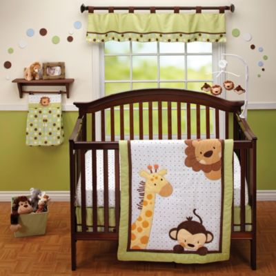 Little Bedding by Nojo® Jungle Pals 3-Piece Crib Bedding Set
