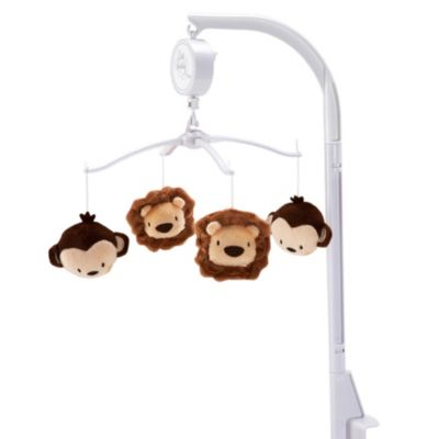 Little Bedding by Nojo® Jungle Pals Musical Mobile