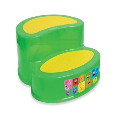 Ginsey Sesame Street® 2-Tier Step Stool