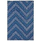 Kaleen Matira Key Indoor/Outdoor Rug in Blue
