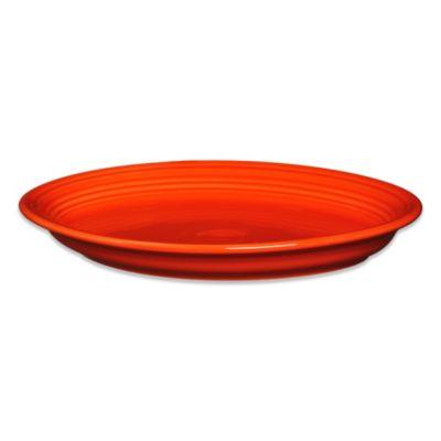 Poppy Oval Platter