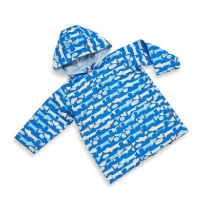 Magnificent Baby Smart Close Raincoat in Hello Hot Dog Boy Print (2T)