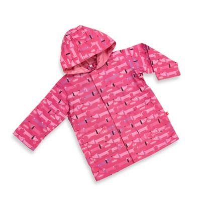 Magnificent Baby Smart Close Raincoat in Hello Hot Dog Girl Print (2T)