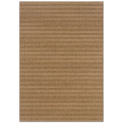 Oriental Weavers Karavia 6-Foot 7-Inch x 9-Foot 6-Inch Stripe Rug in Brown