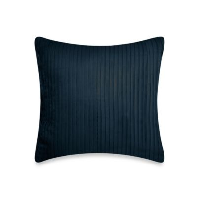 DKNY City Line Square Throw Pillow in Midnight