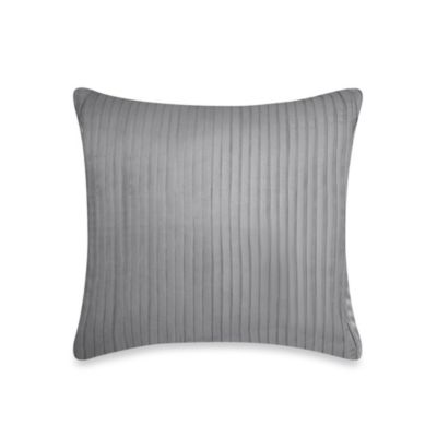 DKNY City Line Square Throw Pillow in Grey