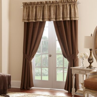 Waterford® Linens Orla Tailored Window Valance