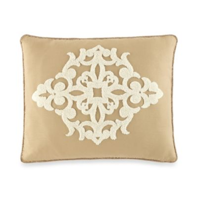 Waterford® Linens Harrison Floral Center Oblong Toss Pillow