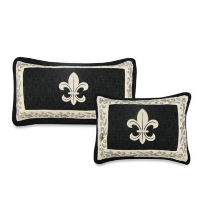 Donna Sharp Fleur de Lis Scroll Standard Pillow Sham