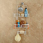 Spa Creations™ Family-Sized Ribbon Shower Caddy in Matte White