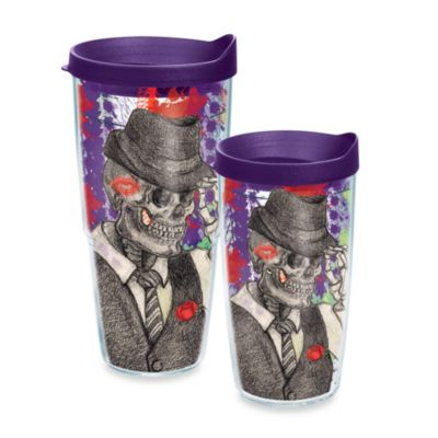 Tervis® Dressed Up Skeleton 24 oz. Wrap Tumbler with Lid